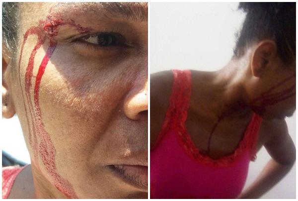 Photo of Vídeo em que Policial Militar agride uma moradora da Chapada do Rio Vermelho ganha repercussão na internet