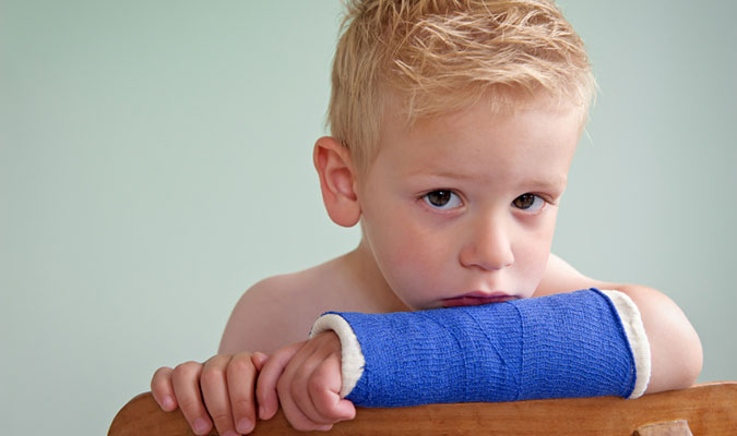 fraturas mais comuns na infância