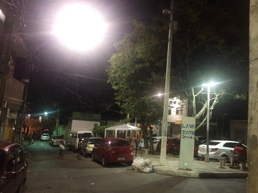 Após apagão, energia retorna no Nordeste de Amaralina