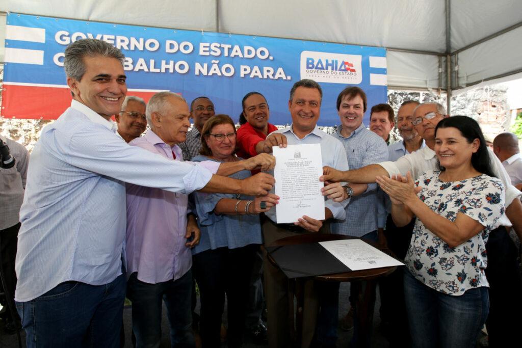 Photo of Contenção de encosta beneficia 2.250 moradores do Alto da Terezinha, em Salvador