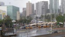 Photo of Protesto de rodoviários permanece na região do Iguatemi e deixa tráfego lento
