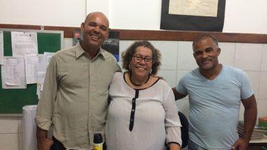 Diretora do Colégio Municipal Teodoro Sampaio recebe visita de lideres comunitários