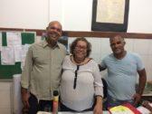 Photo of Diretora do Colégio Municipal Teodoro Sampaio recebe visita de lideres  comunitários