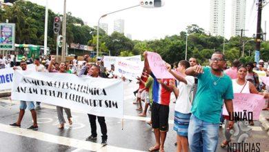 'EU QUERO MEU BRT' Grupo protesta a favor da Instalação do BRT em Salvador