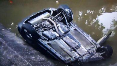 Motorista morre após carro cair em canal no bairro do Rio Vermelho