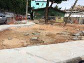 Photo of Obra parada é alvo de reclamações de moradores da Santa Cruz