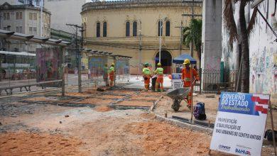 Ruas do Centro Histórico de Salvador são contempladas com projeto de requalificação urbana do Governo do Estado