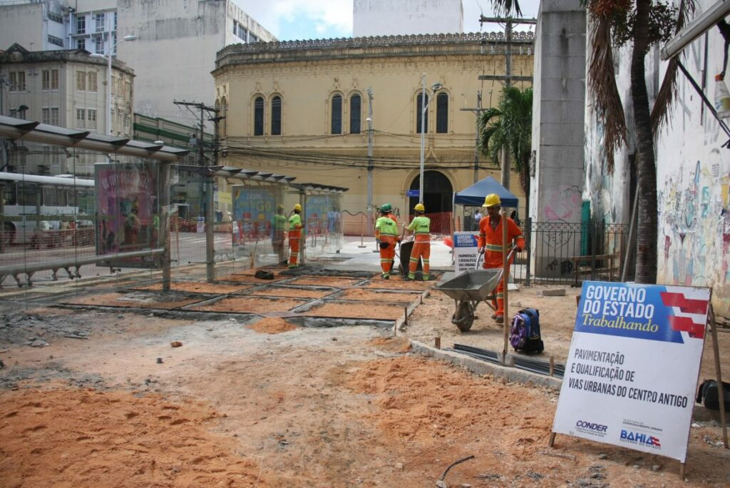 Photo of Ruas do Centro Histórico de Salvador são contempladas com projeto de requalificação urbana do Governo do Estado