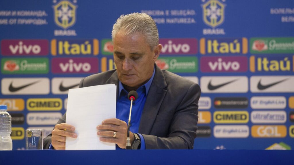 Tite divulga escalação da Seleção Brasileira para a Copa do Mundo