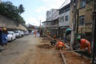 Photo of Conder segue com pavimentação em asfalto nas ruas da Soledade, Barbalho e Lapinha