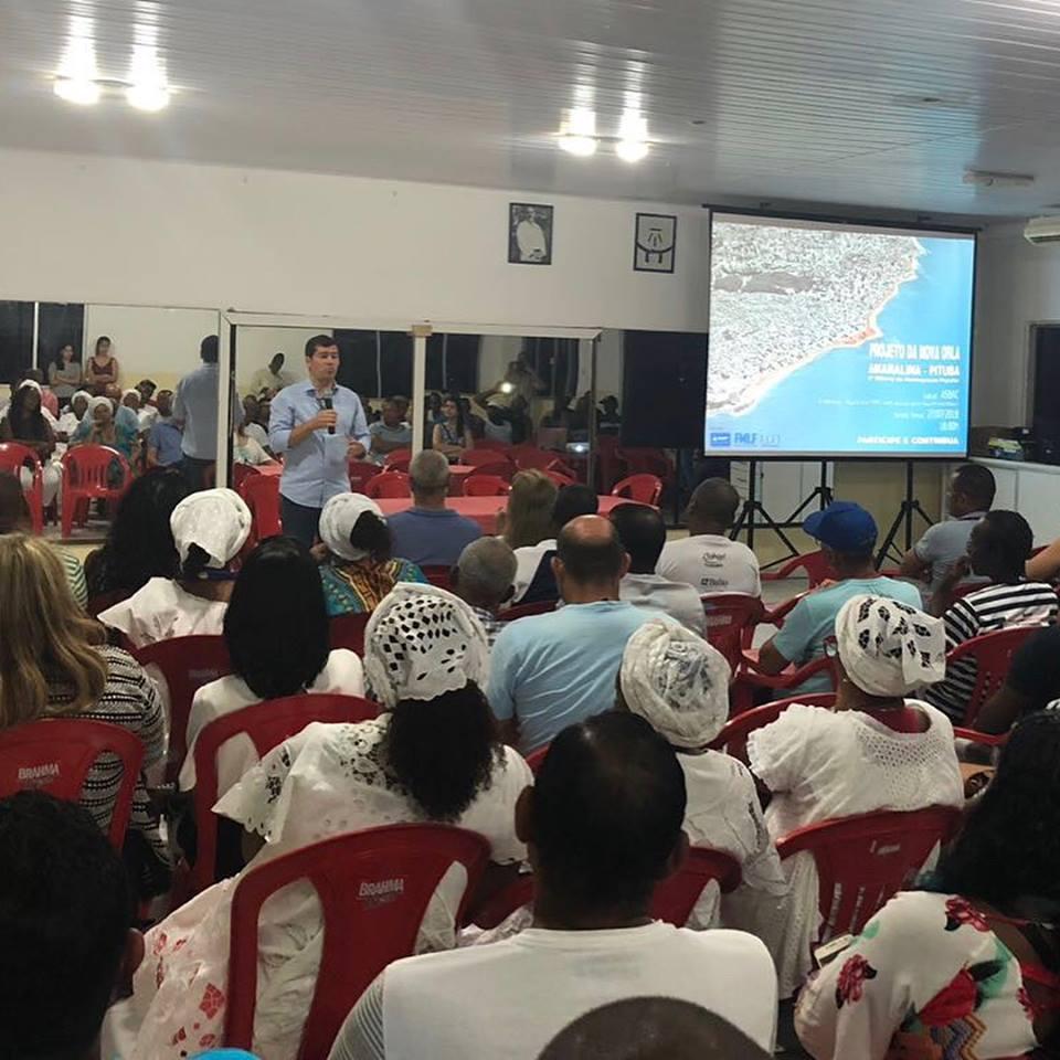 Photo of Fundação Mário Leal Ferreira realiza primeira audiência pública sobre o projeto de requalificação da Orla de Amaralina/Pituba