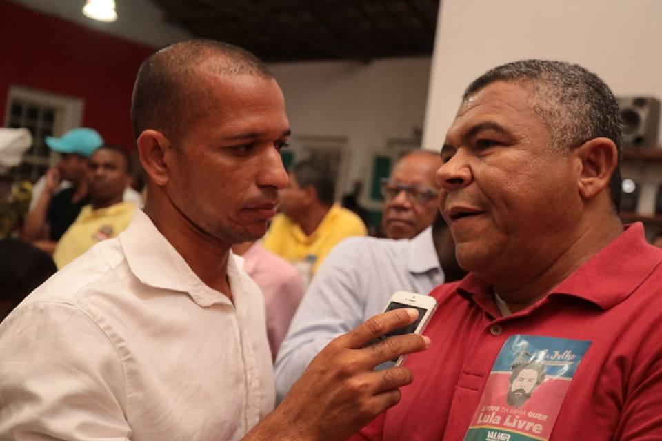 Photo of Valmir Assunção realiza plenária e reforça apoio a Lula