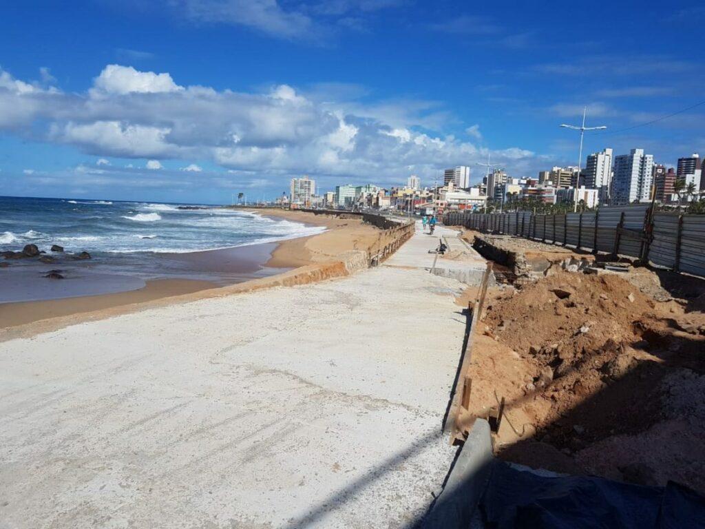 Photo of Obras da Ponte Sobre o Rio Camarajipe no Costa Azul estão em reta final