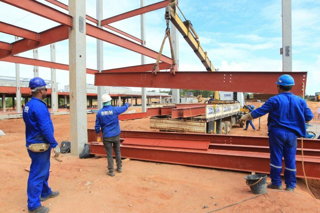Photo of Obras do Hospital Metropolitano estão 37% concluída