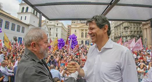Photo of PT define Haddad como vice de Lula e fecha com PCdoB
