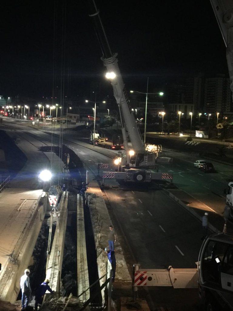 Photo of Obras de requalificação da Ponte Sobre Rio Camurujipe no bairro do Costa Azul estão 60% concluídas