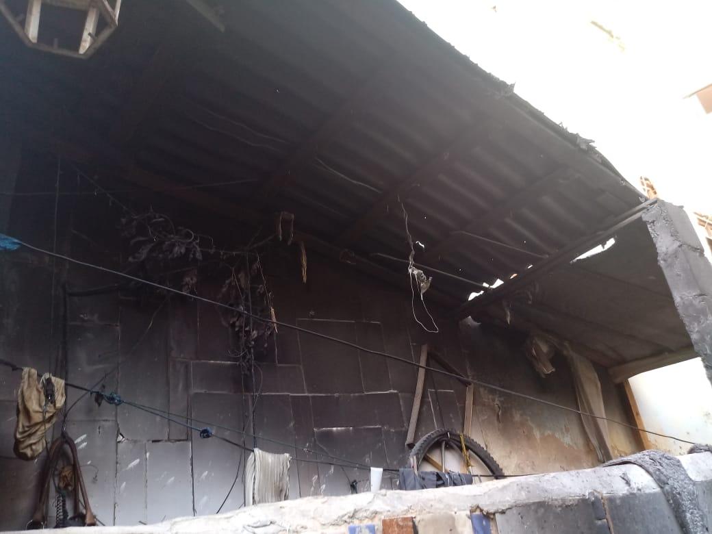 Photo of Casa pega fogo no bairro da Chapada do Rio Vermelho