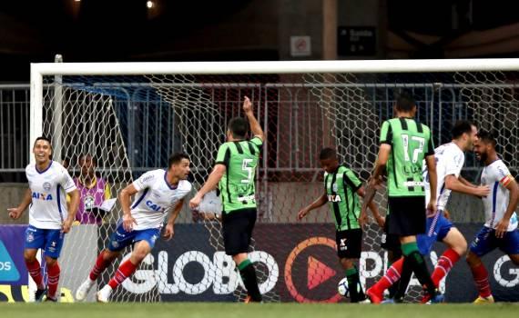Photo of Bahia bate América-MG e pula 5 posições no Nacional
