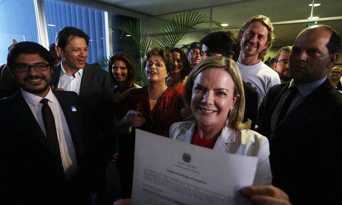 Photo of PT registra candidatura de Lula à presidência da República