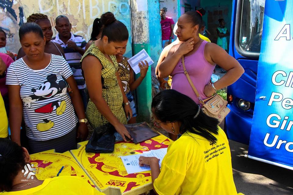 """Photo of Projeto da Gente """"Saúde na Comunidade"""" traz ação de saúde para o Areal em Santa Cruz"""