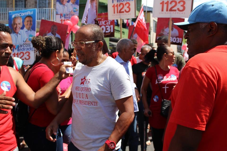 Photo of Nordeste de Amaralina sabe com quem pode contar, diz Suíca sobre crescimento da esquerda