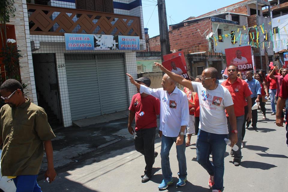 Photo of Suíca e Marcos Medrado mostrou força em caminhada na Santa Cruz