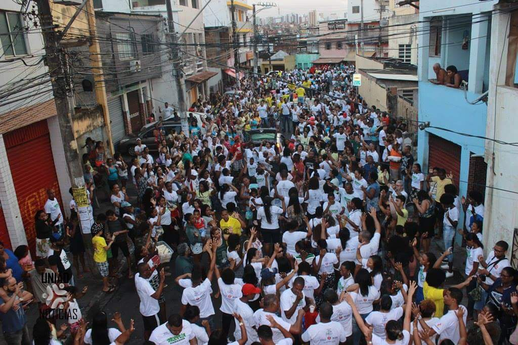 """Photo of Nordeste de Amaralina realiza 9º edição da """"Marcha Para Jesus"""""""