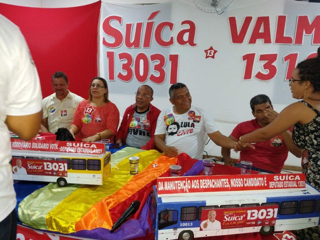 Photo of O povo de Pernambués lota Plenária para receber Suíca e Valmir Assunção