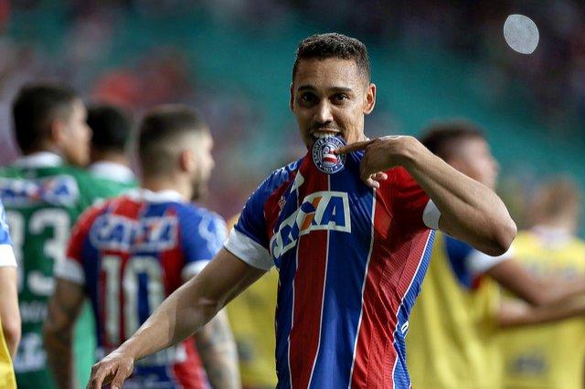 """Photo of Herói da noite, Edigar Junio fala sobre gol marcado no fim do jogo: """"Bahia é sempre com emoção"""""""
