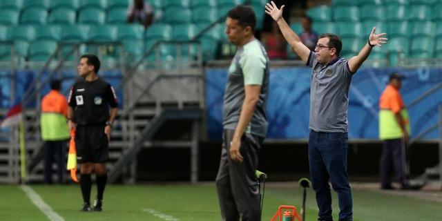 """Photo of PÉS NO CHÃO! Enderson prega calma sobre Libertadores: """"Não dá para iludir o torcedor"""""""