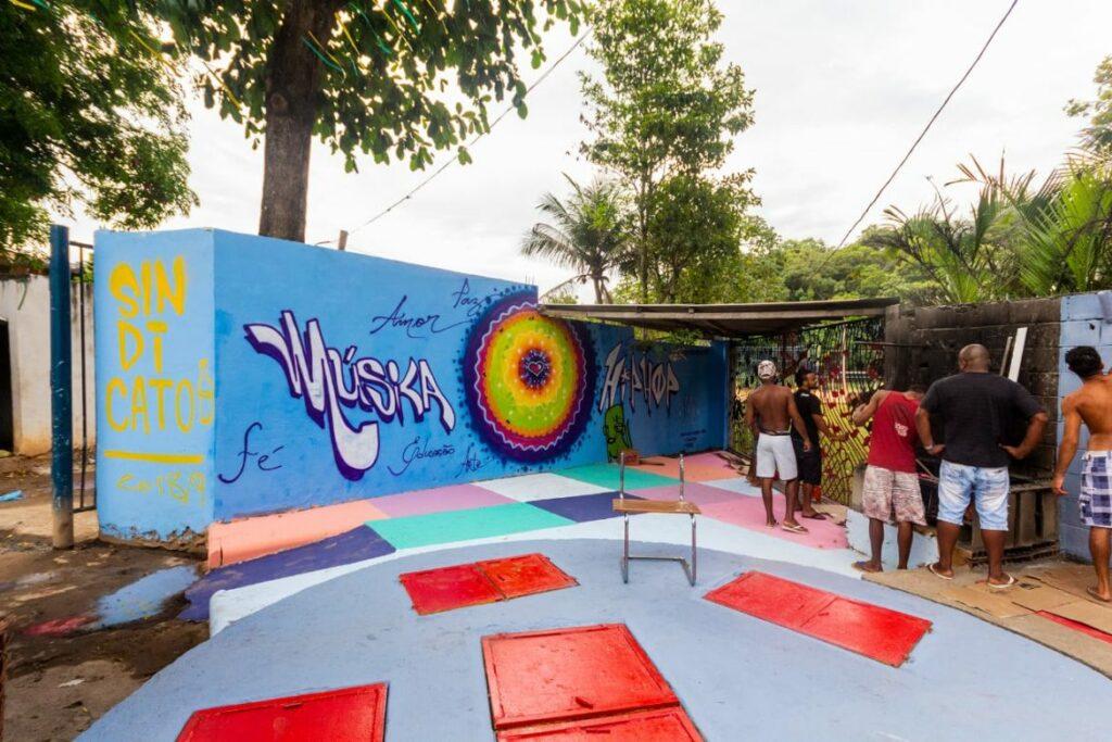 Photo of Movimento Hip Hop promove ação de Graffiti no Bairro da Santa Cruz