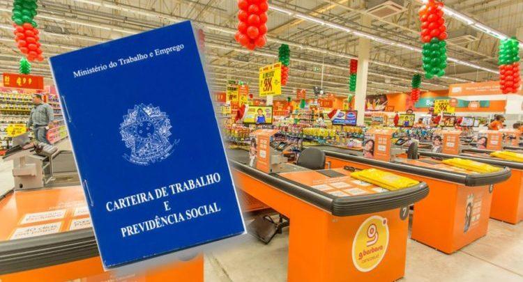Rede de supermercados recebe currículos em 283 vagas de emprego para ... 981fa01c926