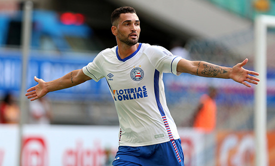 Photo of No Instagram, Gilberto anuncia renovação de contrato com o Bahia