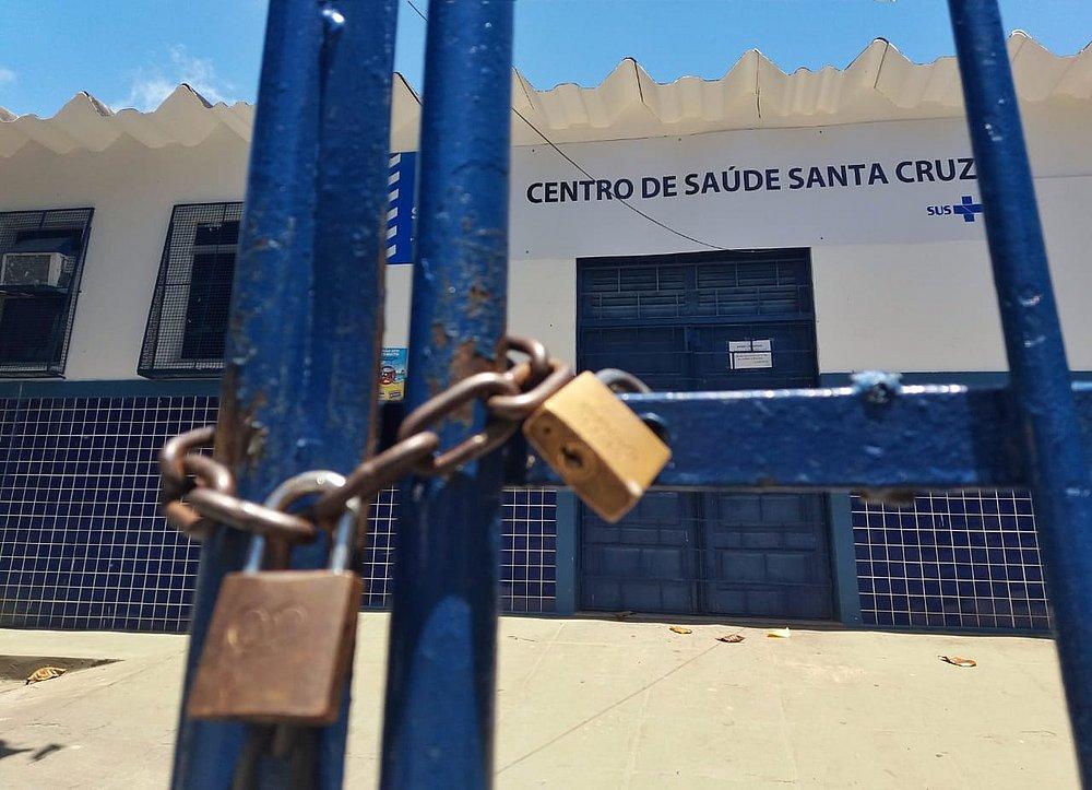 Photo of Líderes Comunitários e Moradores promovem ato público contra fechamento do Posto de Saúde da Santa Cruz