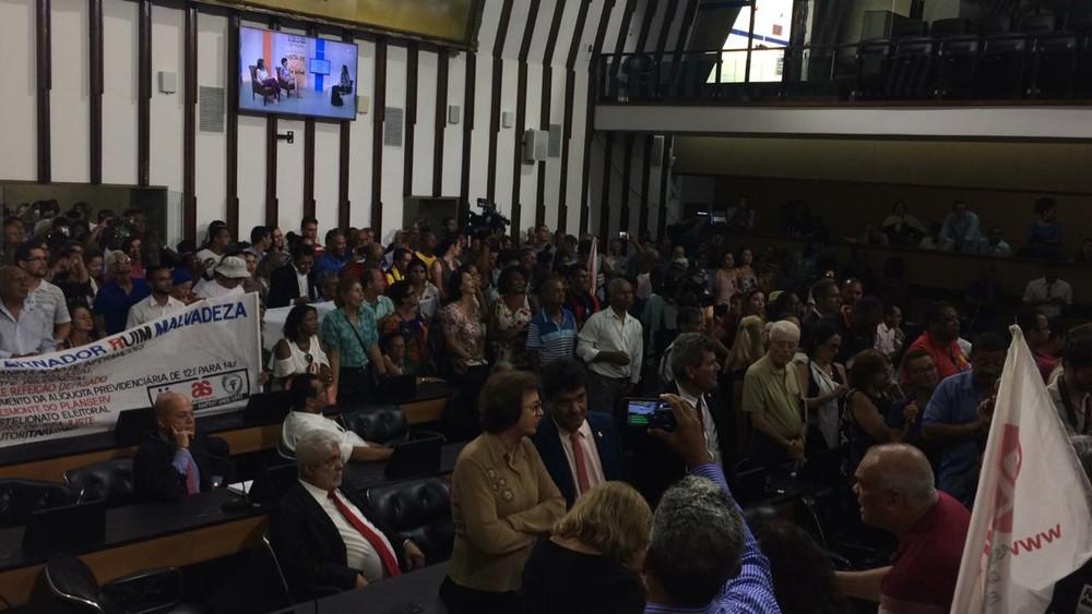 Photo of Deputados aprovam PL com pacote de medidas enviadas por Rui Costa