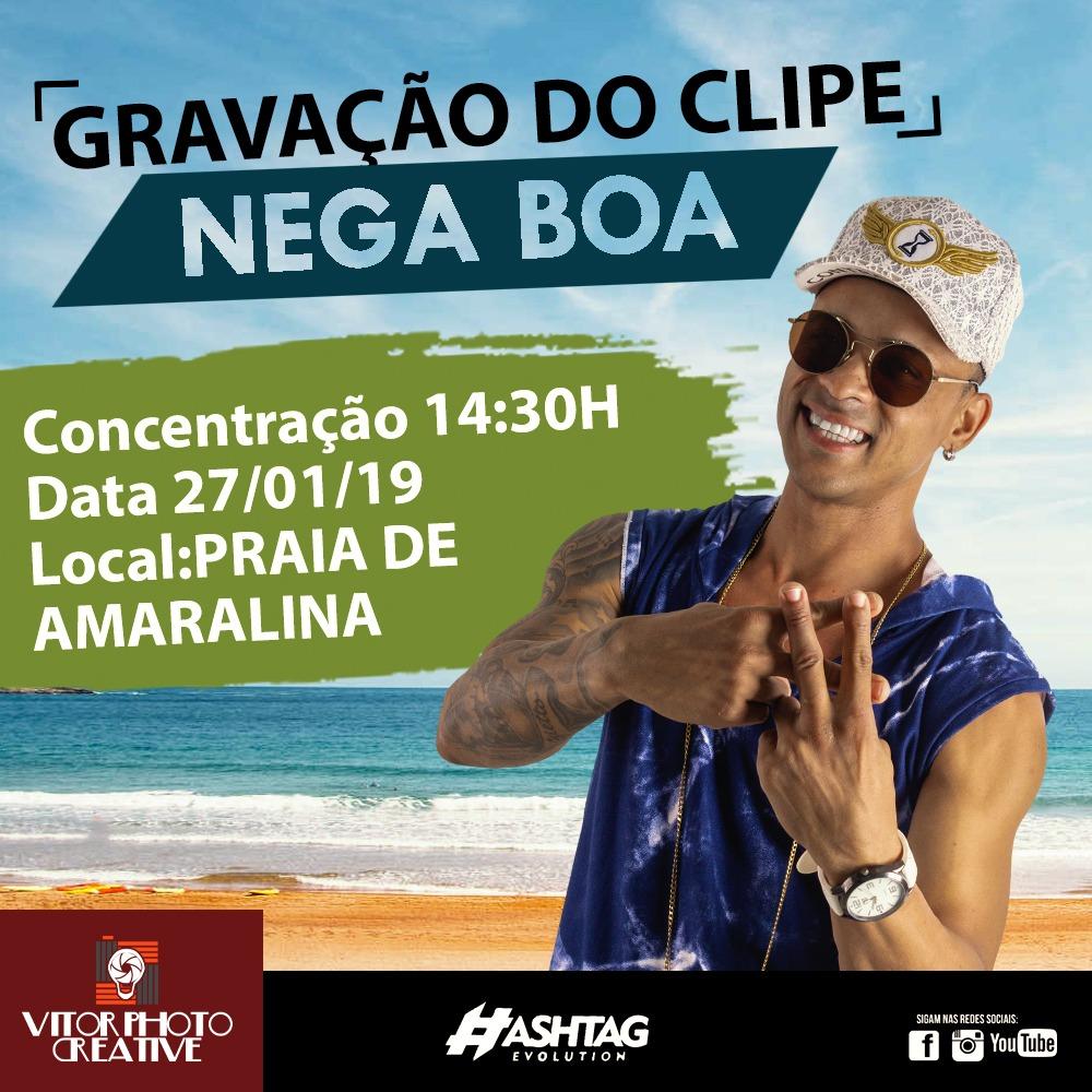 Photo of Banda #Hashtag grava clipe na Praia de Amaralina neste domingo (27)