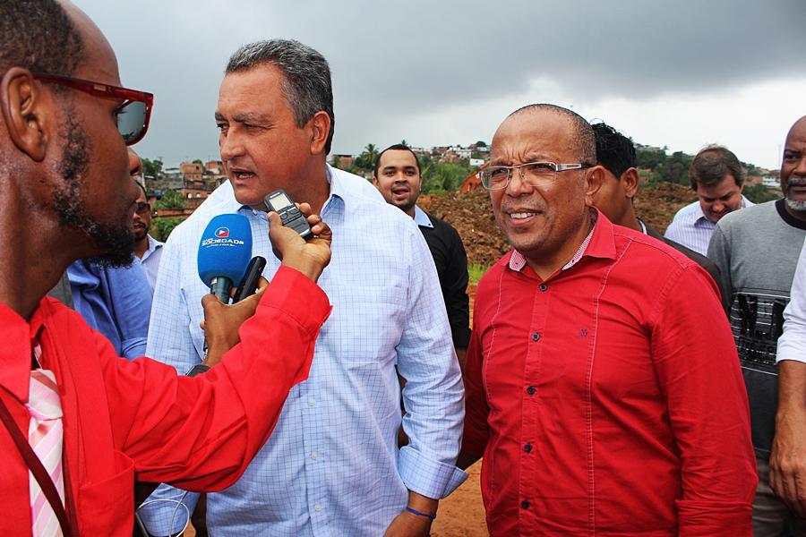 Photo of Vereador Suíca acompanha Rui em Nova Constituinte e destaca importância das obras na capital