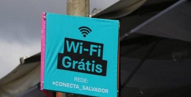 Photo of Conecta Salvador leva wi-fi gratuito para 100 mil pessoas por dia