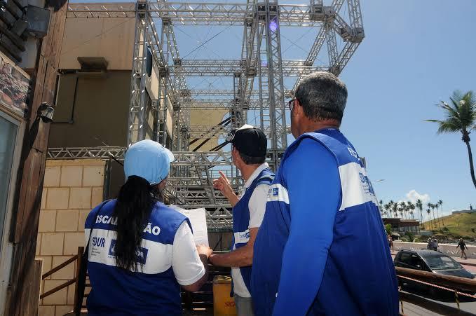 Photo of Sedur inicia fiscalização da montagem de camarotes para carnaval
