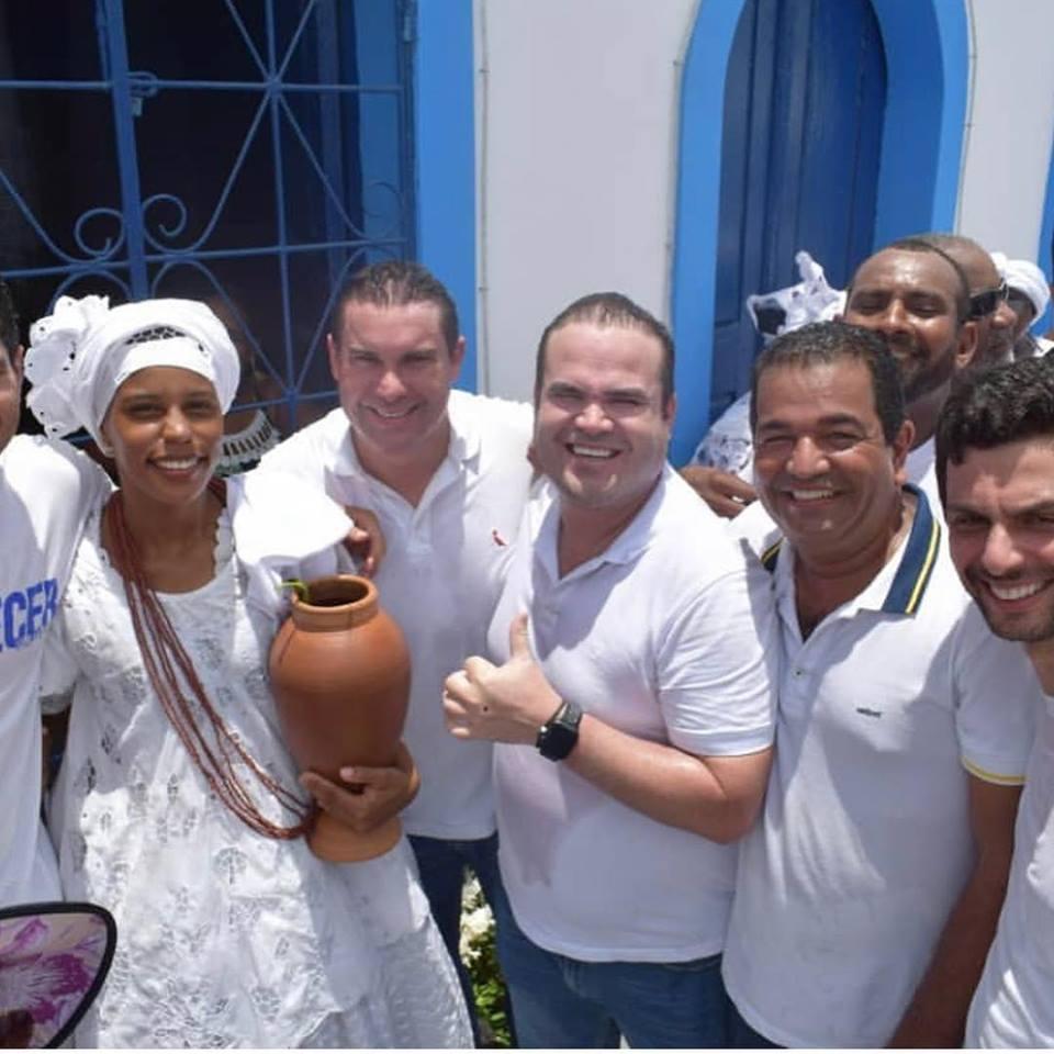 Photo of Deputado Cacá Leão marca presença em tradicional Lavagem do Bonfim de Mata de São João