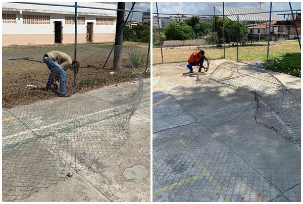 Photo of Conder inicia obras de reforma da Quadra de esporte do Centro Social Urbano de Pernambués em Salvador