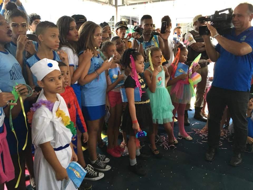 """Photo of 40ª CIPM promove """"Bailinho de Carnaval"""" para crianças da Santa Cruz e Região"""