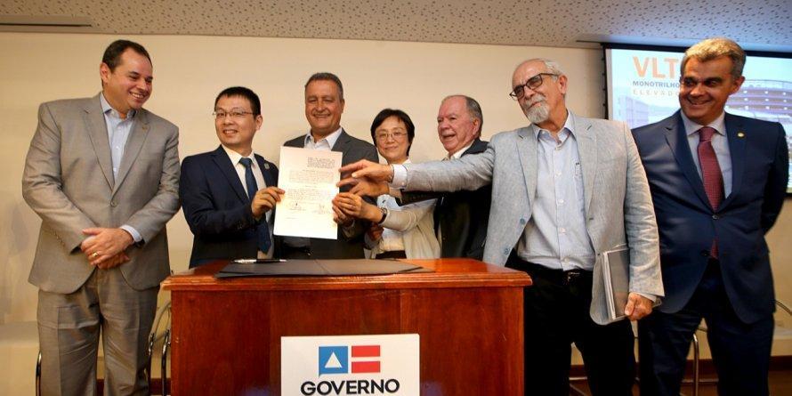 Photo of VLT: Rui Costa assina contrato para início das obras de implantação