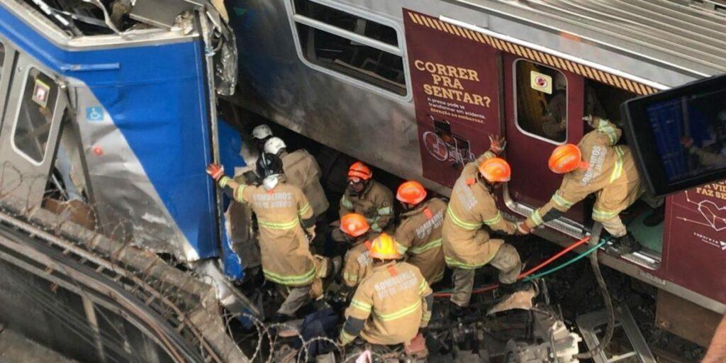 Photo of TENSO! Colisão entre trens deixa nove feridos na Zona Norte do Rio de Janeiro
