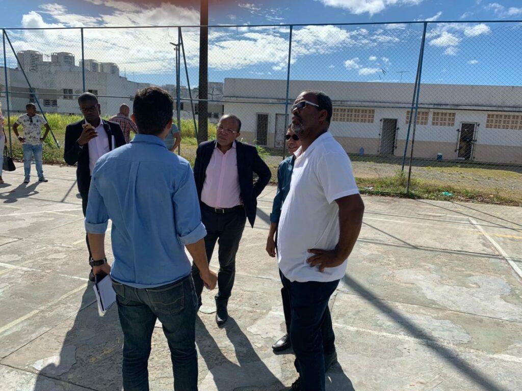 """Photo of Suíca visita Centro Social Urbano de Pernambués, """"para mim é o Centro Social mais belo e o maior da Bahia"""