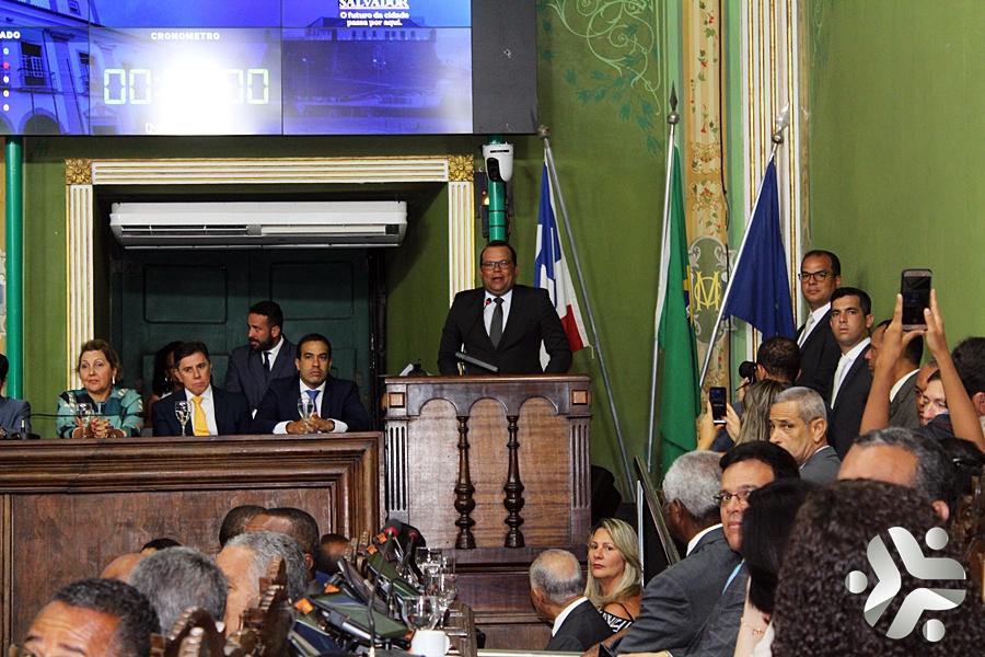 Photo of Reabertura dos Trabalhos na Câmara Municipal de Salvador; Fotos