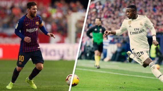 Photo of Vinícius Júnior diz que Messi 'não assusta ninguém'