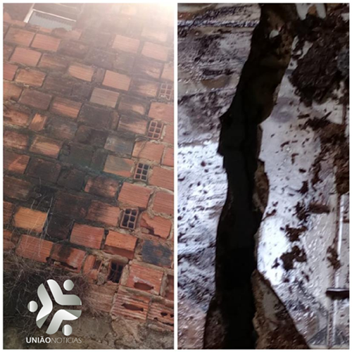 Photo of Casa pode cair na cabeça de moradora da Santa Cruz; vídeo