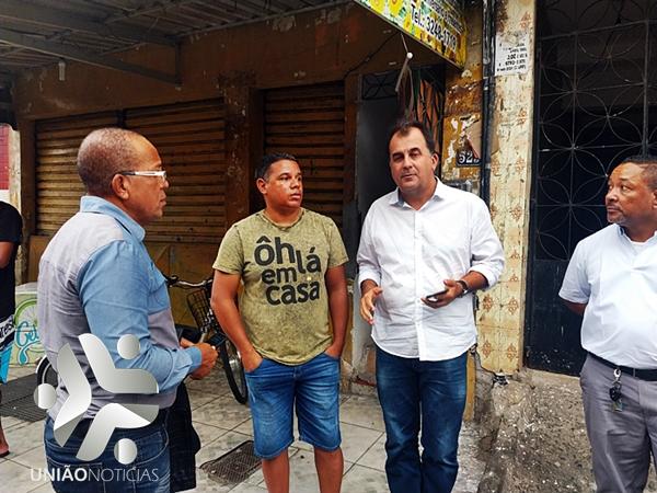 Photo of Fábio Mota visita a Santa Cruz e apresenta três soluções para mobilidade do Bairro