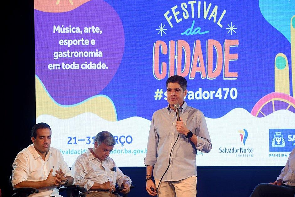 Photo of Salvador 470 anos: prefeitura anuncia mais de 40 obras e inaugurações até abril